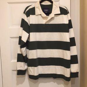 LL Bean Rugby shirt